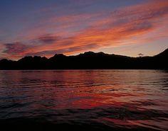 Seward, Alaska sunset