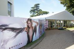 Boodles tennis 2013 - Outdoor & Event Branding #outdoorbranding #eventbranding #branding