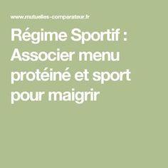 Régime Sportif : Associer menu protéiné et sport pour maigrir