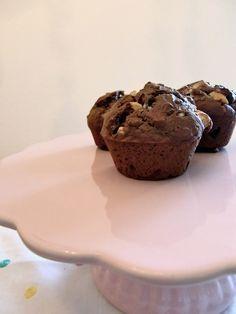 Endlich mal wieder ein Sonntagssüß: Triple Chocolate Chip Muffins à la Cynthia Barcomi