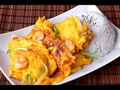Egg Foo Young, Cantonese style - How to Make the Original Fuyong Dan (芙蓉蛋) - YouTube