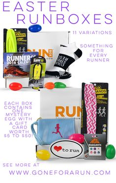 Its almost easter surprise your favorite runner with one of our with eleven easter runboxes to choose from there is something for every runner each box contains one 1 mystery egg with a gift card valued from 5 to negle Image collections