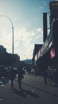 The first day of sunshine in a while #nyc #vsco #winter