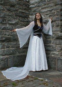 Elven wedding dress ukulele