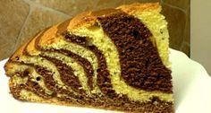 Zebratorta Pound Cake, Banana Bread, First Birthdays, Cooking Recipes, Favorite Recipes, Sweets, Food, Crack Cake, One Year Birthday
