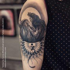 unique lord shiva tattoo designs