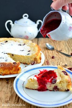 Rice pudding with fruit sauce Baby Food Recipes, Cooking Recipes, Romanian Desserts, Fruit Sauce, Sweetest Day, Cake Cookies, Food Photo, French Toast, Sweet Treats