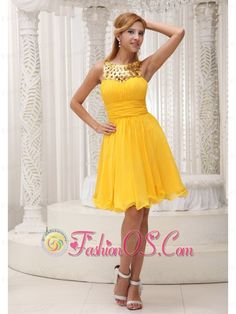 Ruched Bodice Sequin and Chiffon Custom Made 2013 Homecoming / Cocktail Dress For Formal Evening- $126.49