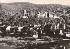 Heidelberg, Germany around 1900 Germany And Prussia, Krakow, Dresden, Poland, New York Skyline, Photographs, Travel, Heidelberg, Viajes