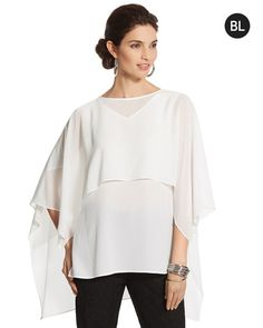 Chico's Flowy Layered Top #chicos