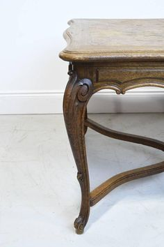 Antik asztal Vanity Bench, Vintage Designs, Entryway Tables, Shabby Chic, Carving, Retro, Furniture, Home Decor, Decoration Home