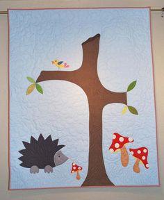 H is for Hedgehog Quilt Pattern