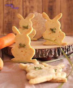 La tarta de zanahoria es una de mis preferidas, así que decidí probar este ingrediente en las galletas y ver que tal quedaba
