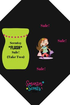 Scentsy Flash Sale ~ Take 2! Didn't get all that you wanted at last week's sale? Maybe you had a hard time getting on because the sale was so popular? TODAY ONLY! STARTS AT 12:00 p.m. (EST)! Click through on this post to Bookmark the link and come back at NOON Today and start saving!  Join Our FREE VIP Group for Sneak Peeks, promotions, samples and MORE! http://smarterscents.net/vip