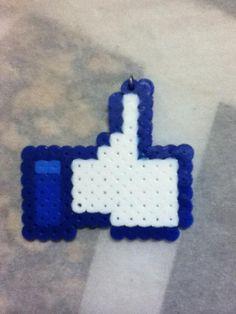 -Perler- Facebook Like Symbol by ~OtakuLuka on deviantART