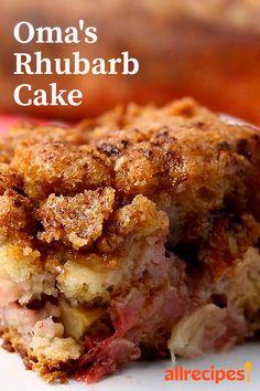 Food Cakes, Cupcake Cakes, Rose Cupcake, Cupcake Recipes, Dessert Aux Fruits, Savoury Cake, Pavlova, Sweet Recipes, Ruhbarb Recipes