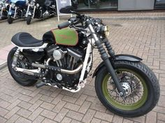 Harley-Davidson® Sportster® rebuilt into the style of a Cafe Racer!