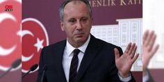 """Muharrem İnce'den Cumhurbaşkanı Erdoğan'a CHP yanıtı: Cumhurbaşkanı Recep Tayyip Erdoğan'ın """"Sözde ##AdaletYürüyüşü yapanlar, partilerinde genel başkanlığa aday olanlara o hakkı vermiyor"""" sözlerine yanıt, 2014'te CHP genel başkanlığına aday olan Yalova milletvekili Muharrem İnce'den geldi."""