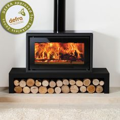 Stovax Riva Studio 1 Freestanding Wood Burning Stove - DEFRA Approved - All Stoves - Stoves Are Us