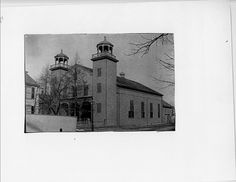 First Religious Society church, Newburyport, MA. This work by the Newburyport Public Library Archival Center is licensed under a Creative Commons Attribution International License. Library Of America, Library Of Congress, Digital Archives, Historical Photos, Public, Creative, Historical Pictures
