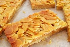 Looking for a healthy version of Honey Almond Slice? This fresh new take on a classic favourite is absolutely delicious! This post is in collaboration with Flora. Honey Recipes, Almond Recipes, Baking Recipes, Sweet Recipes, Cookie Recipes, Dessert Recipes, Party Desserts, Dessert Bars, Biscuits