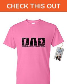 Veteran DAD The Man The Myth The Legend Mens Short Sleeve T Shirt Pink X Large - Relatives and family shirts (*Amazon Partner-Link)