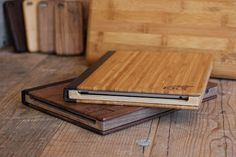There's just something so right about mixing sexy tech products with wood grain - these wooden iPad cases do it perfectly