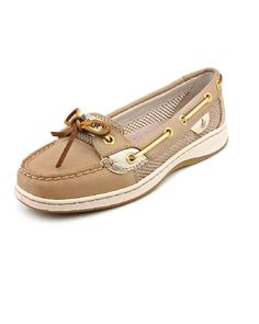 Sperry Top Sider Angelfish Women Tan Boat Shoe