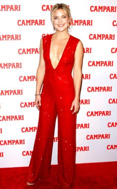 Kate Hudson Shuts It Down in a Fiery, Plunging Jumpsuit, Dishes on Her Upcoming Holiday Plans  Kate Hudson