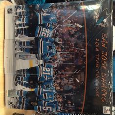 2014 calendar - $18 - Prepare for the new year with a #SJSharks calendar available at the Sharks Store at SAP Center. Call to order: 408-999-6810