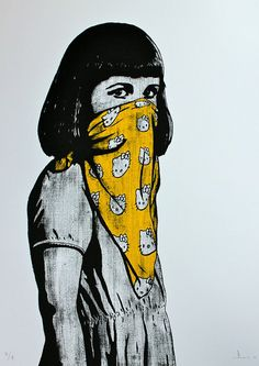 KITTY RIOT YELLOW by Nuart 2012, via Flickr