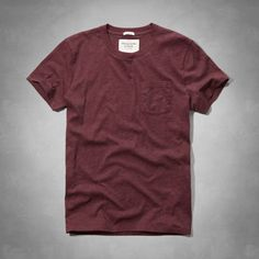Muscle Fit Crew Pocket Tee