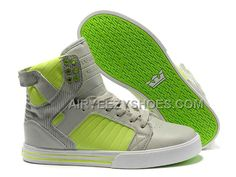 cheap for discount eba62 24156 Supra Skytop Grey Green Men s Shoes, Price   61.00 - Air Yeezy Shoes