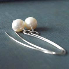 pearl earrings Rachel Lucie Love these!  <3
