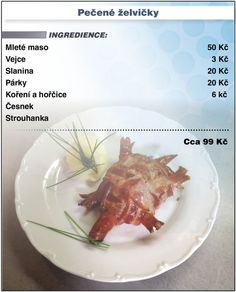 Levně a chutně - Recept na pečené želvičky Beef, Recipes, Food Recipes, Rezepte, Ox, Recipe, Cooking Recipes, Steak