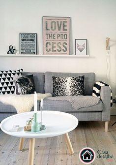 Resultado de imagem para manta no sofá