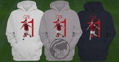 Mesut Özil 11 Arsenal Hoodie- AFC Soccer Sweatshirt #football #soccer #arsenal #coyg #ozil #premierleague