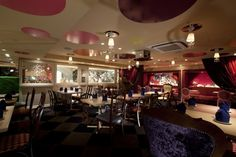 Alice In Wonderland themed cafe.