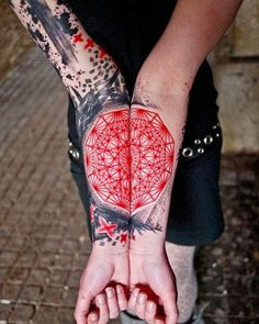 Some tattoos can't be contained by a single limb, they need more room to stretch out. In this gallery you will find a collection of tattoos that span both of a person's arms and don't look their best until they... [ read more ]