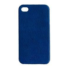 J.Crew Leather iPhone 4 case