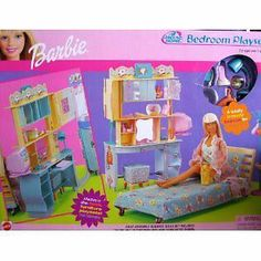 Factory SEALED Barbie All Around The House Home Bedroom Playset 2000 | eBay