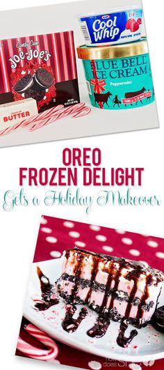 Oreo Frozen Delight Gets a Holiday Makeover howdoesshe.com