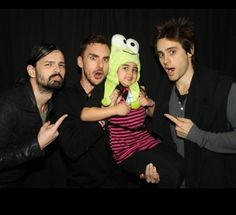 30 Seconds To Mars with a lil Echelon