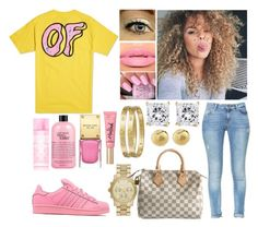 """""""Untitled #865"""" by lovelyxox ❤ liked on Polyvore featuring ODD FUTURE, adidas Originals, Giallo, Michael Kors, Cartier, philosophy, Victoria's Secret PINK, MICHAEL Michael Kors, Zara and Louis Vuitton"""