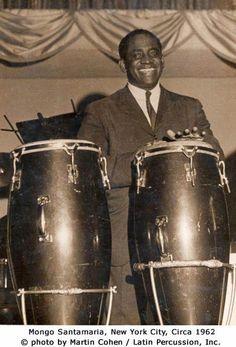 """Ramón """"Mongo"""" Santamaría Rodríguez (La Habana, 7 de abril de 19221 - Miami, 1 de febrero de 2003) fue un percusionista, arreglista y director de orquesta cubano, una de las principales figuras del jazz latino."""