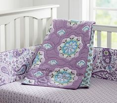 Brooklyn Nursery Bedding #PotteryBarnKids