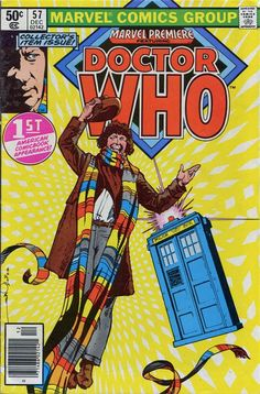 John Kenneth Muir's Reflections on Cult Movies and Classic TV: Pop Art: Doctor Who (Fourth Doctor): Marvel Editio...