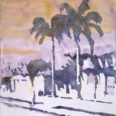 "Sigmar Polke, ""Palm Trees"""