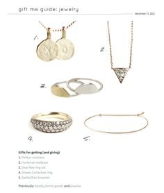 "The ""Arrowhead"" necklace is in this very nice blog: Audrey Raod: http://www.aubreyrd.com/. Thank you for mentioning our necklace in your very nice blog A.   The ""Arrowhead"" necklace is also 30% off until the end of January.   1, 2, 3 GO:))) www.hortensejewelry.com"