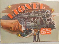 1940 Vintage Lionel Train Catalog